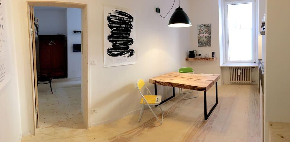 12VilleHome - Charmy Design Flat - Bolzano - Huoneisto