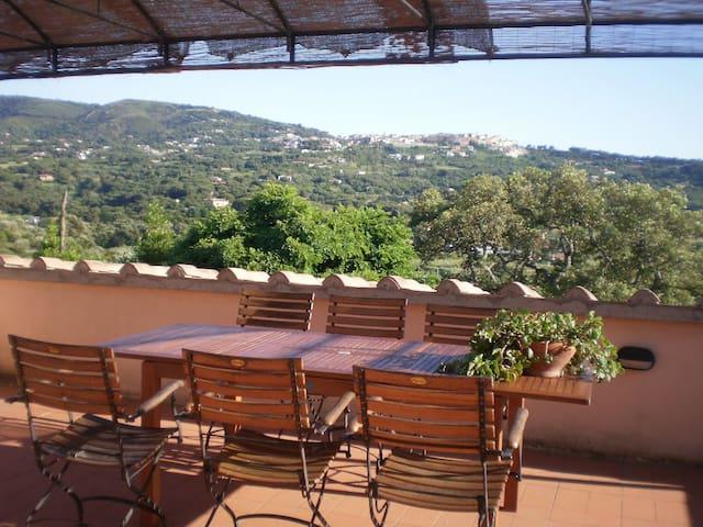 Casa colonica Le Pitte, appartamento con terrazza - Mola