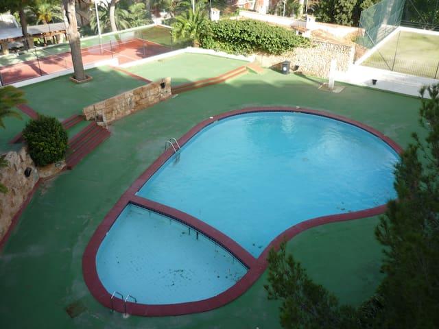 loft con piscina en zona Illetas,  cerca playa - Illetes - Loft