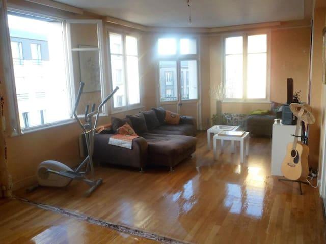 Chambre agréable dans appt 112 m2 rénove en cours - Brest