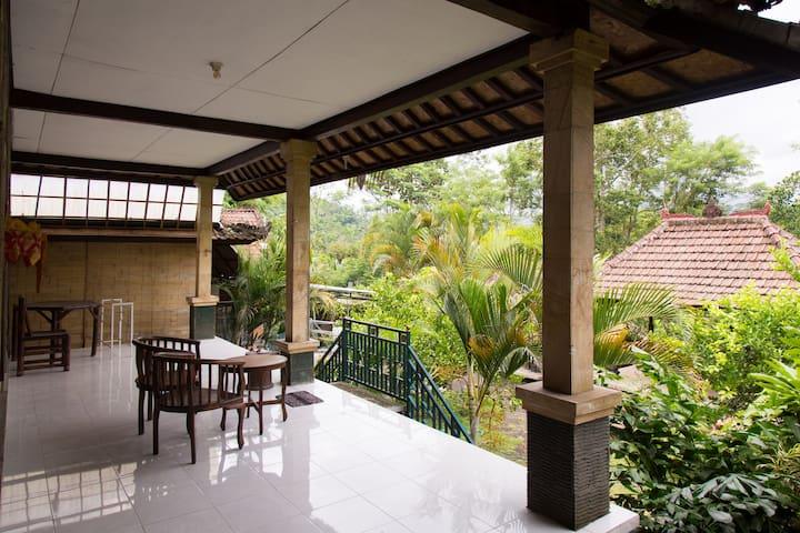 Pondok Bali in the Jungle - Selat - Hus
