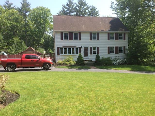 Near Boston but suburban -Twin-XL or King Bedroom - Billerica - Дом