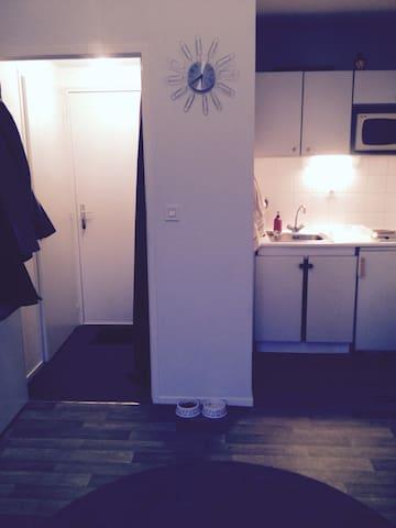 Jolie appartement de 40 m² - Poitiers - Huoneisto