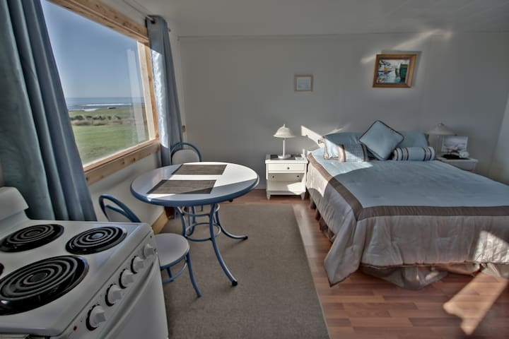 Oceanfront cottage w full kitchen - Yachats - Apartment
