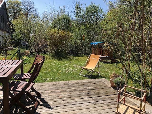 Sonniger Garten, Familienbett und Katze - Zorneding - Lägenhet