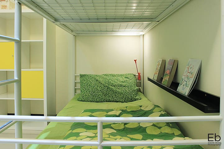 TaipeiBNT Female (Mnth Rent) - 4beds Lower Bunk A - Tucheng District