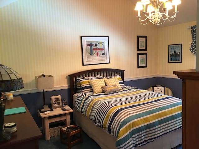 Stylish one bedroom close to NYC w private bath - Closter - Haus