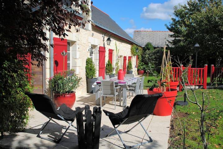 Appartement de 45m²animaux accepté sans supplément - Cornillé-les-Caves - Departamento