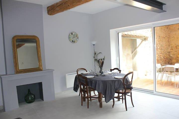Gîte Chez Dame Paulette - Ferrals-les-Corbières - Townhouse