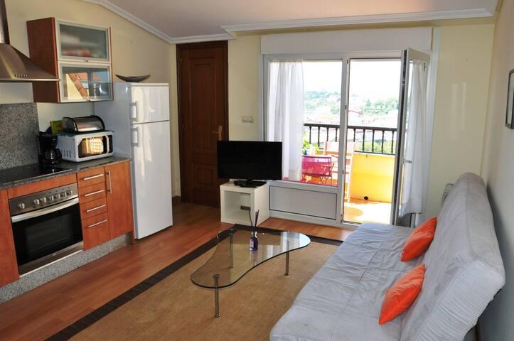 Apartamento con vistas preciosas  - Miño - Daire