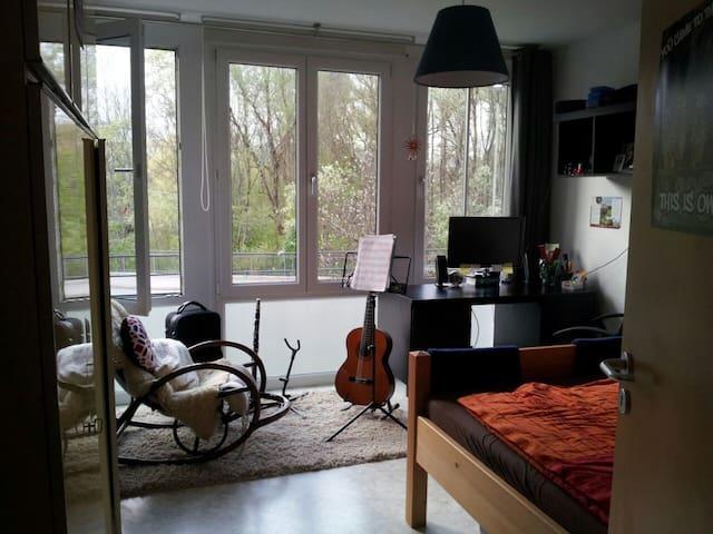 Helles, gemütliches WG-Zimmer in Freising - Freising - Leilighet