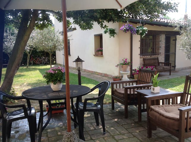 Ravenna cottage indipendente garden - Ravenna - Lägenhet