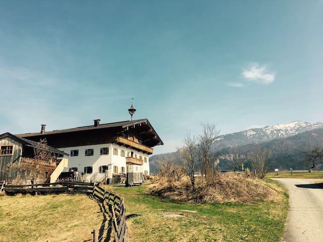 Idyllischer Bauernhof - Bichlach - Hus