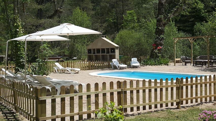 Acogedor apartamento con piscina en pleno Pirineo - Sant Llorenç de Morunys - Leilighet