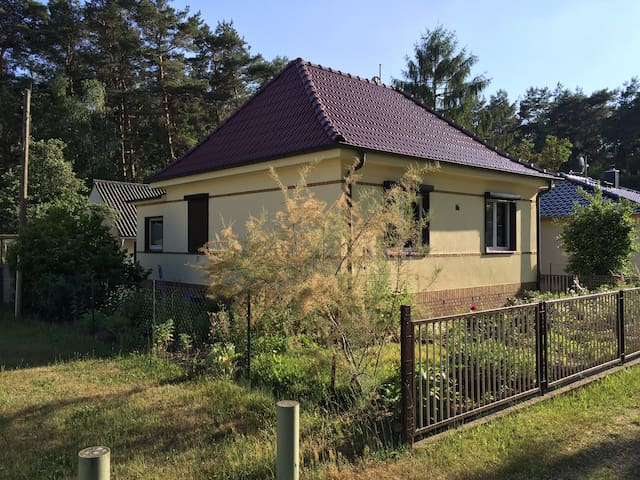 Haus am Wald - Ruhe und Entspannung in der Natur - Schorfheide