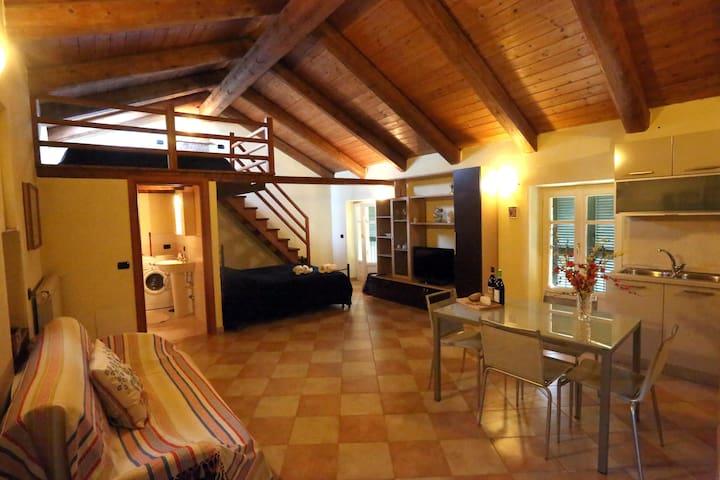 La Dolce Vite Apartment, La Morra town - La Morra - Çatı Katı