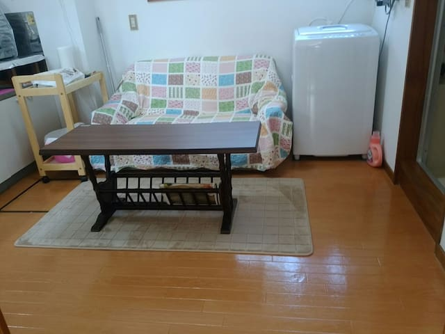 【Free WIFI】Clean, Comfy & Simple private apartment - Akita-shi - Daire