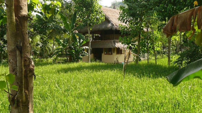 Country Villa Sumbawa (2bedroom) in 9000sqm garden - Pujut - Casa