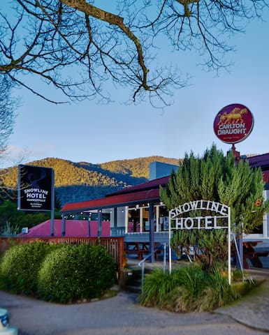 Harrietville Snowline Hotel - Queen Ensuite Room - Harrietville - Departamento