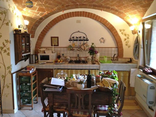 Il Nido, near Pienza, Montepulciano - Castelmuzio - Casa