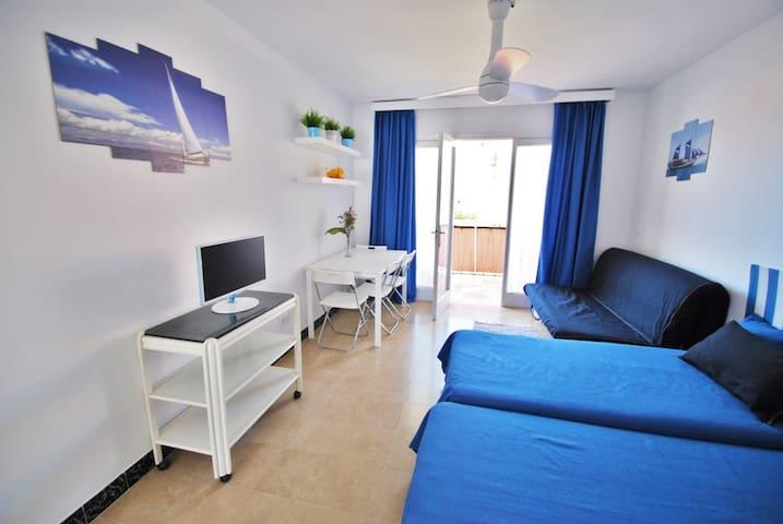 Apartamento en la playa con vistas al mar - Calafell - Apto. en complejo residencial