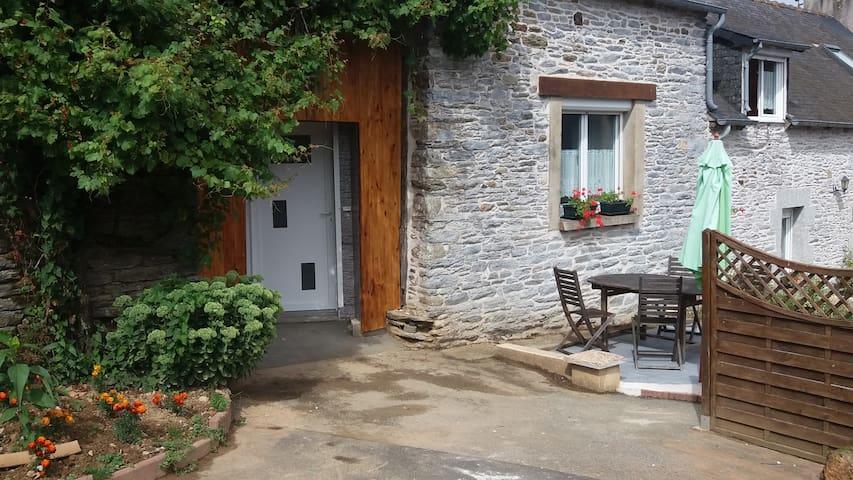 Gîte pour 2 dans une longère - Saint-Martin-des-Prés - Appartement