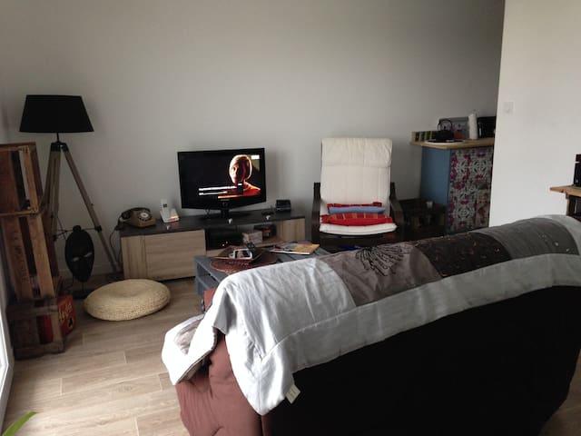 Joli T2 pour une pause sur POITIERS - Poitiers - Lägenhet