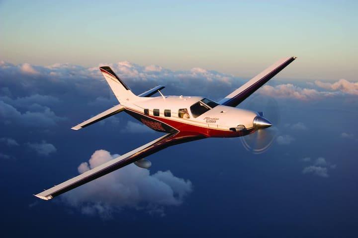 Private Flight max 5 passengers North Europe - Rygge - Vliegtuig