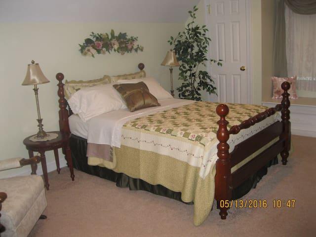 King's Victorian bedroom - Ronks - Huis