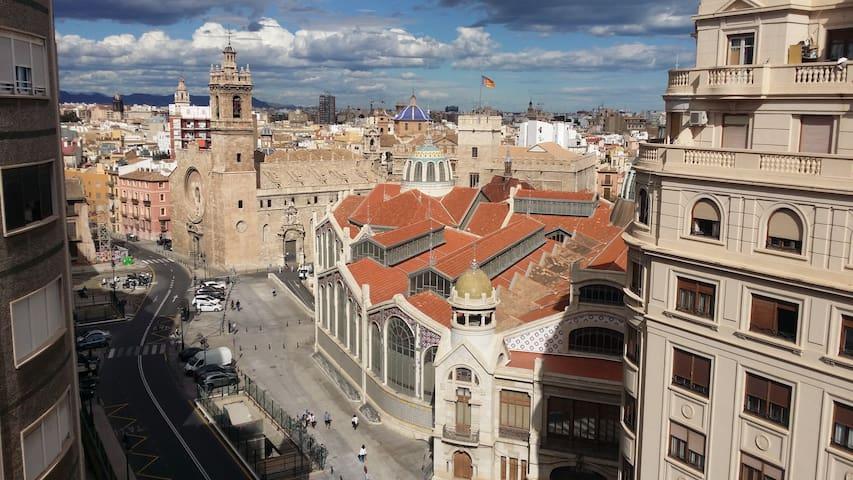 Room at old city (Central Market) - València - アパート