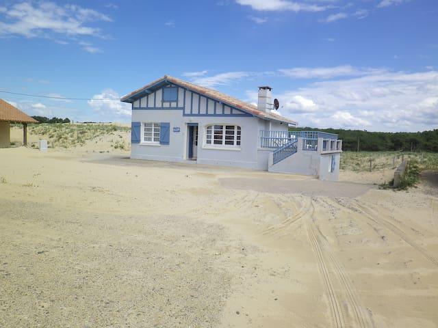 maison sur la dune plage st girons - Vielle-Saint-Girons - Hus