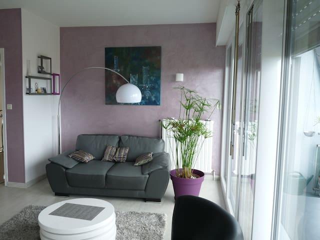 chouette appartement vue sur mer - Équeurdreville-Hainneville - Huoneisto