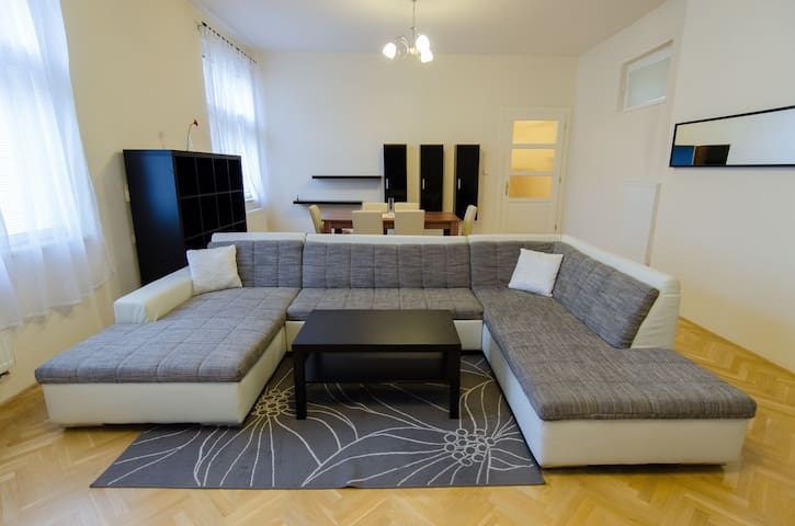 Lovely spacious apartment in centre - Košice - Apartamento