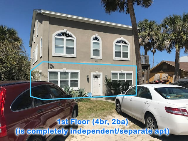 Easy beach access, centrally located for walking - St. Augustine Beach - Appartement