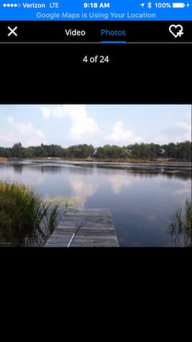 Perfect 5BDR Lakehouse Getaway - Long Pond - Huis