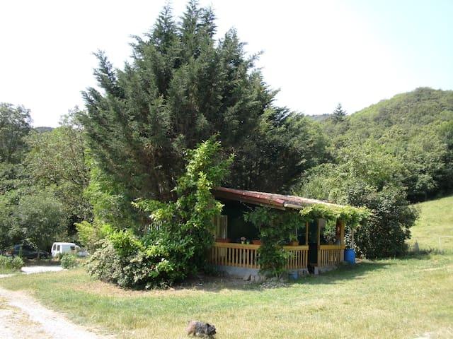 Mobilhome Plein nature à la ferme - Saint-Pons-de-Thomières