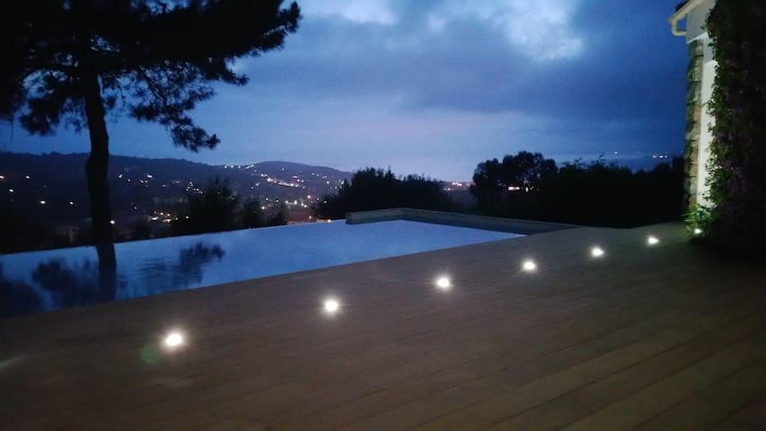 appartement RDC villa avec piscine - Viggianello - Rumah