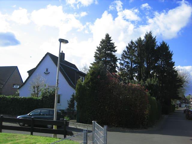 Ferien im Dreiländereck nähe Aachen mit Garten - Würselen - Daire
