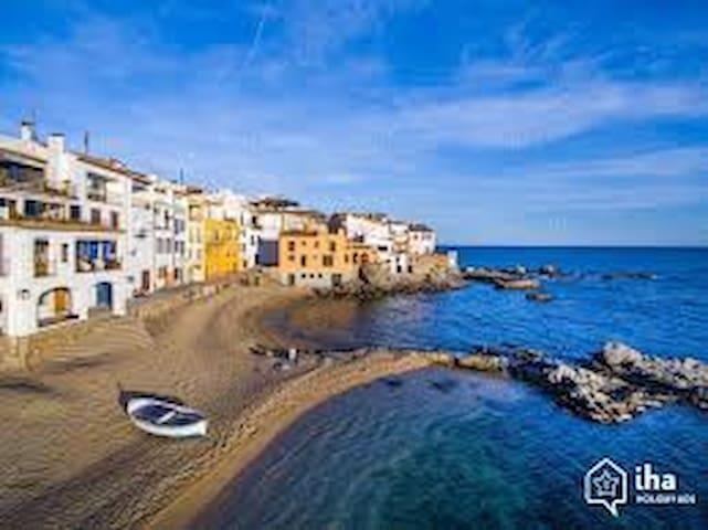 Apartamento en Calella Palafrugell vistas mar - Palafrugell - Daire