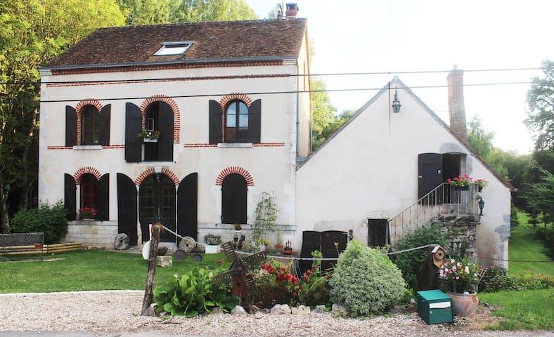 Ancien Moulin avec grand étang, pêche - Bonny-Sur-Loire - Ev