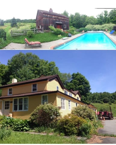 Catskills Rustic House 1829 and Inground Pool - Parksville