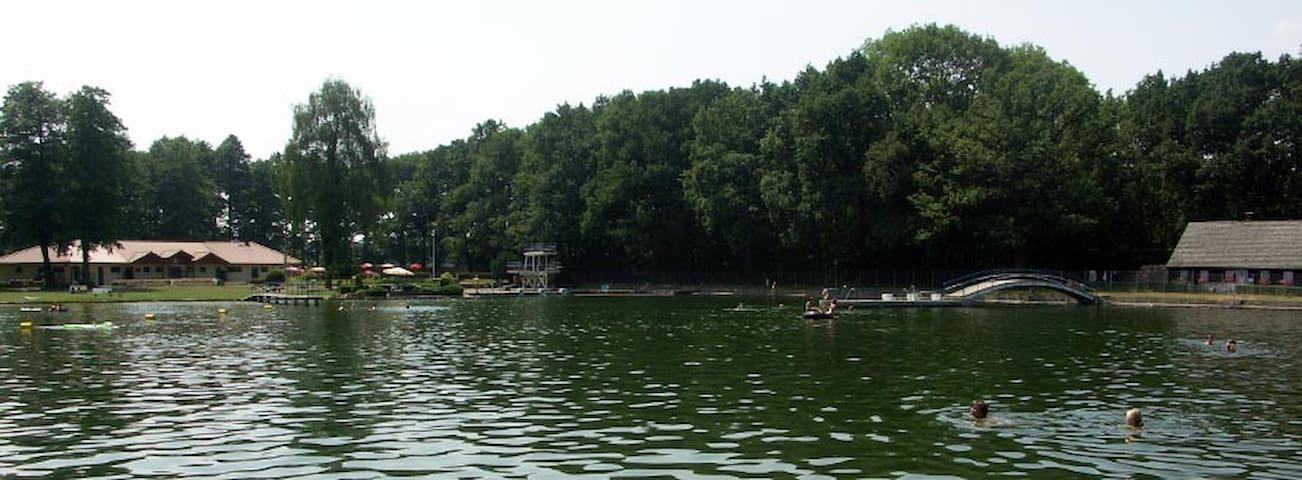 Wald Bungalow direkt neben Naturbad - Pulsnitz - Casa