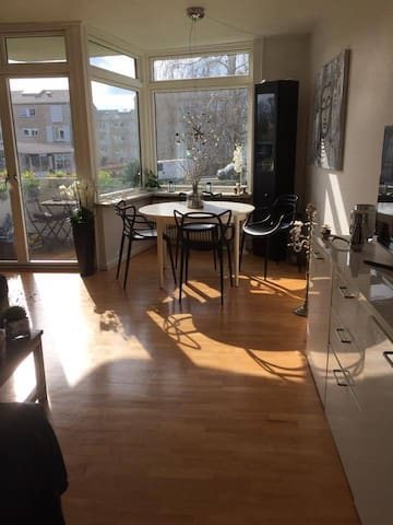 Sunny apartment only 15 min from Copenenhagen - Gentofte - Appartement