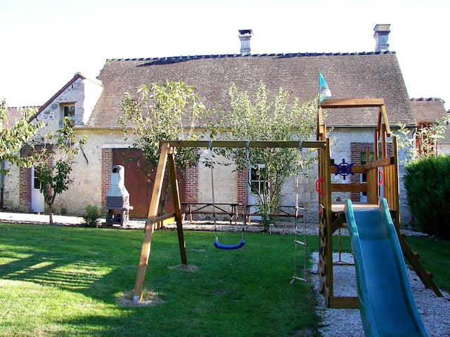 Charming holiday home Ceriseraie north of Paris - Orrouy - House