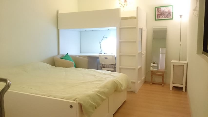 B-2bed with bath,room close MMH,NTHU,NCTU,PASchool - East District - Appartement