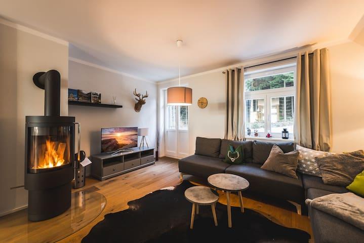Modernes, großzügiges Appartement - Altenberg - Leilighet