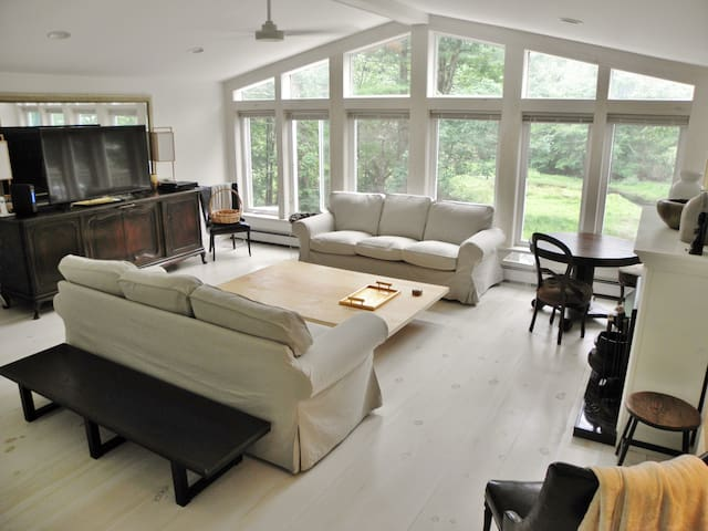 Luxurious 3bd/2ba waterfront steps from town - Narrowsburg - Dom