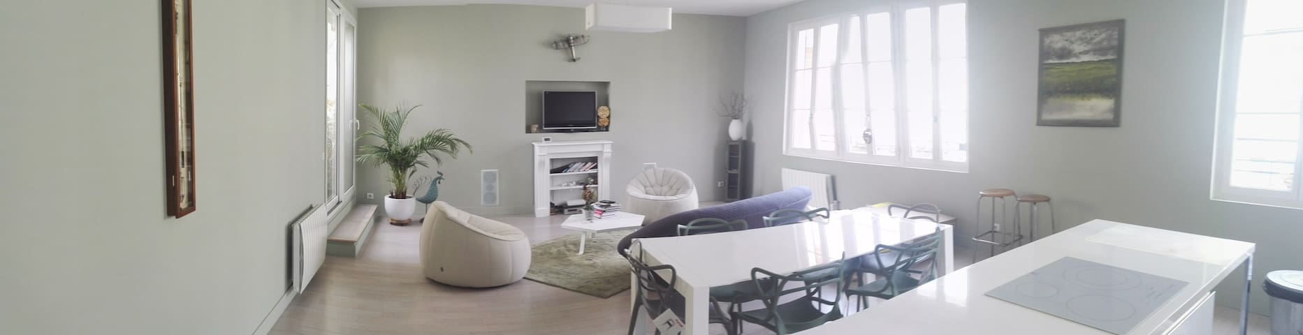 Appartement calme et spacieux Centre Ville - Mantes-la-Jolie - Квартира