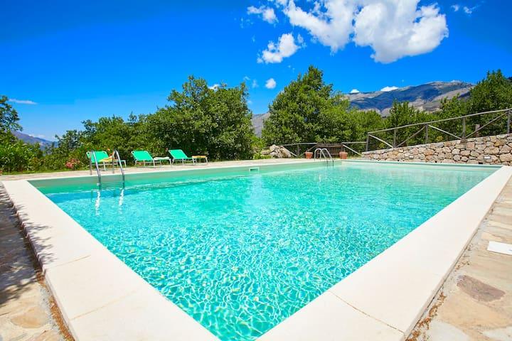 Country villa with pool in Sicily - Polizzi Generosa - Villa
