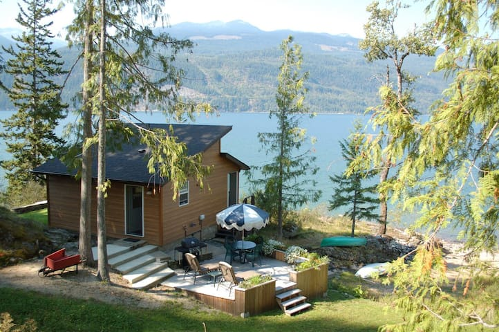 The best cabin in the Kootenays - Kootenay Bay - Hus